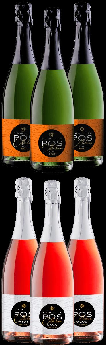Dubbel feest - POS Cava mix pakket